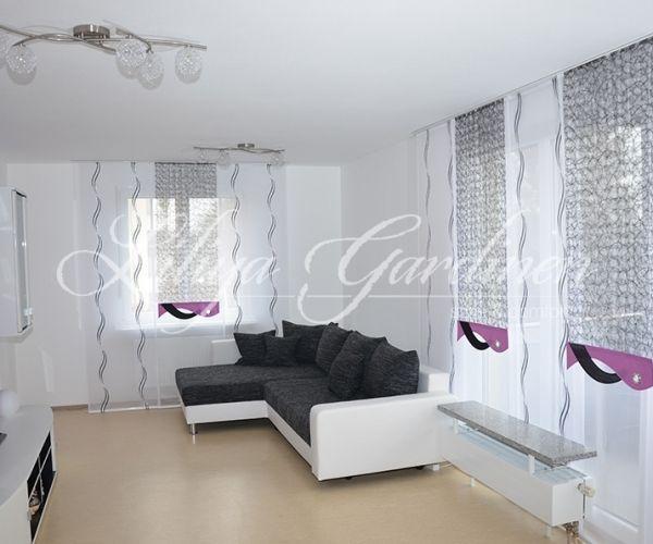 Schöne Wohnzimmer Gardinen nach Maß Wir gestallten Ihr