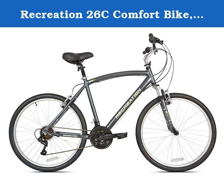Recreation 26c Comfort Bike Grey 22 X Large This 21 Speed Bike