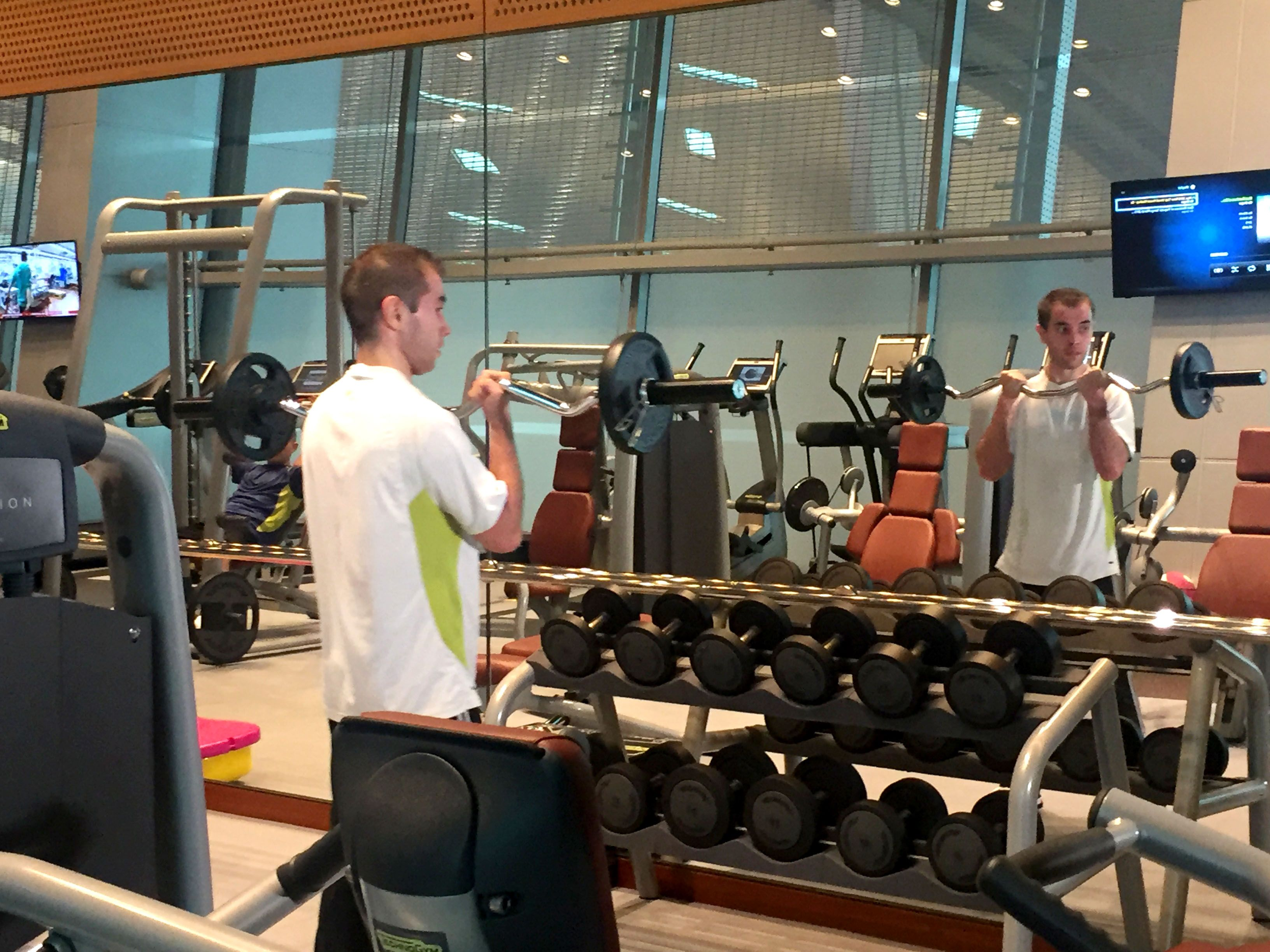 Improve your skin and muscle tone. Visit us at #Vitality Wellbeing & Fitness Centre and enjoy our gym!