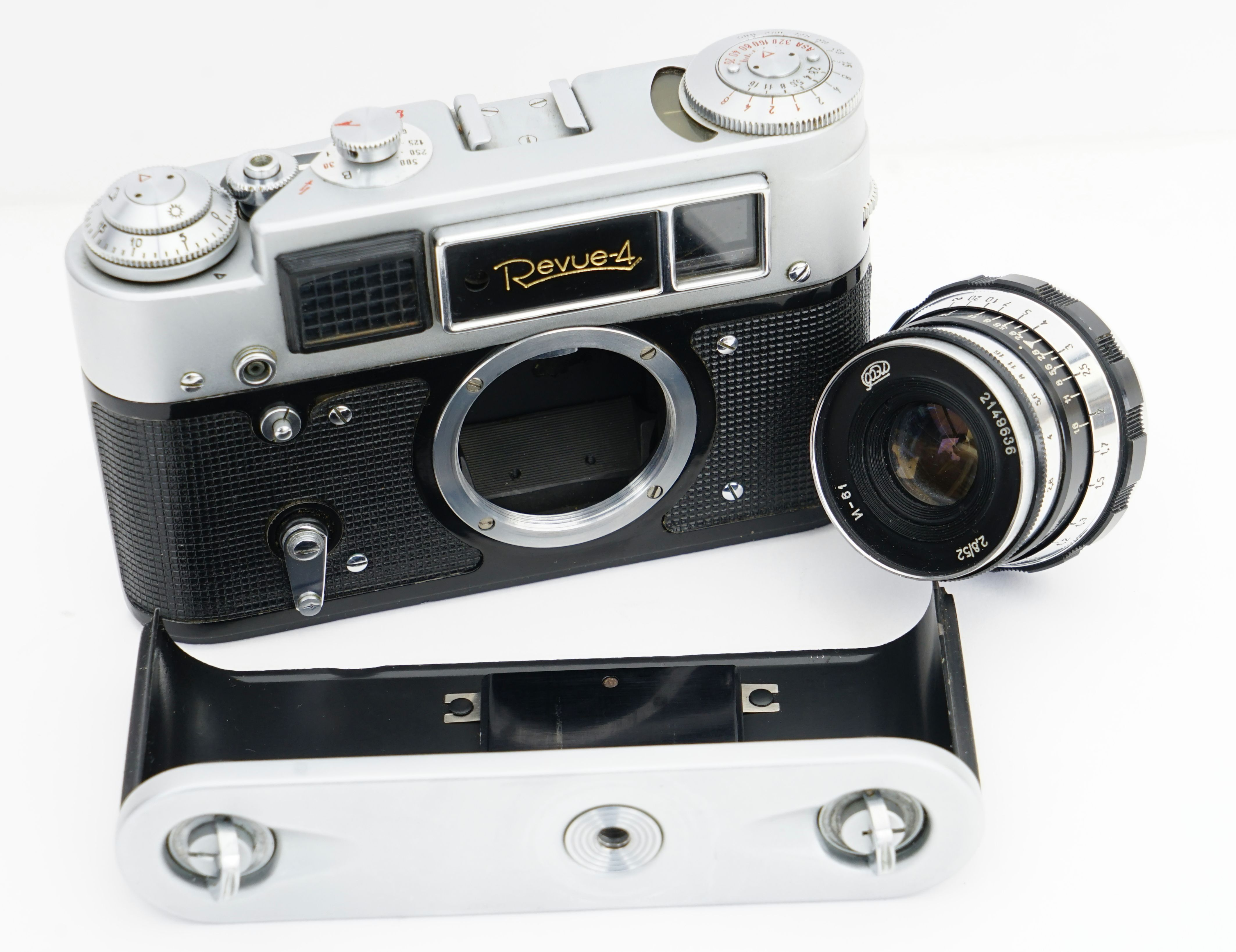 Revue 4 Versie 1 Fed 4b Lens De Industar N 61 L D 52mm F 2 8