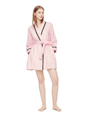 terry cotton robe - Kate Spade New York  1209f22ff