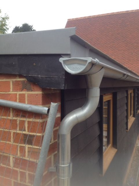 Galvanised Gutter House Restoration House Exterior Timber Cladding