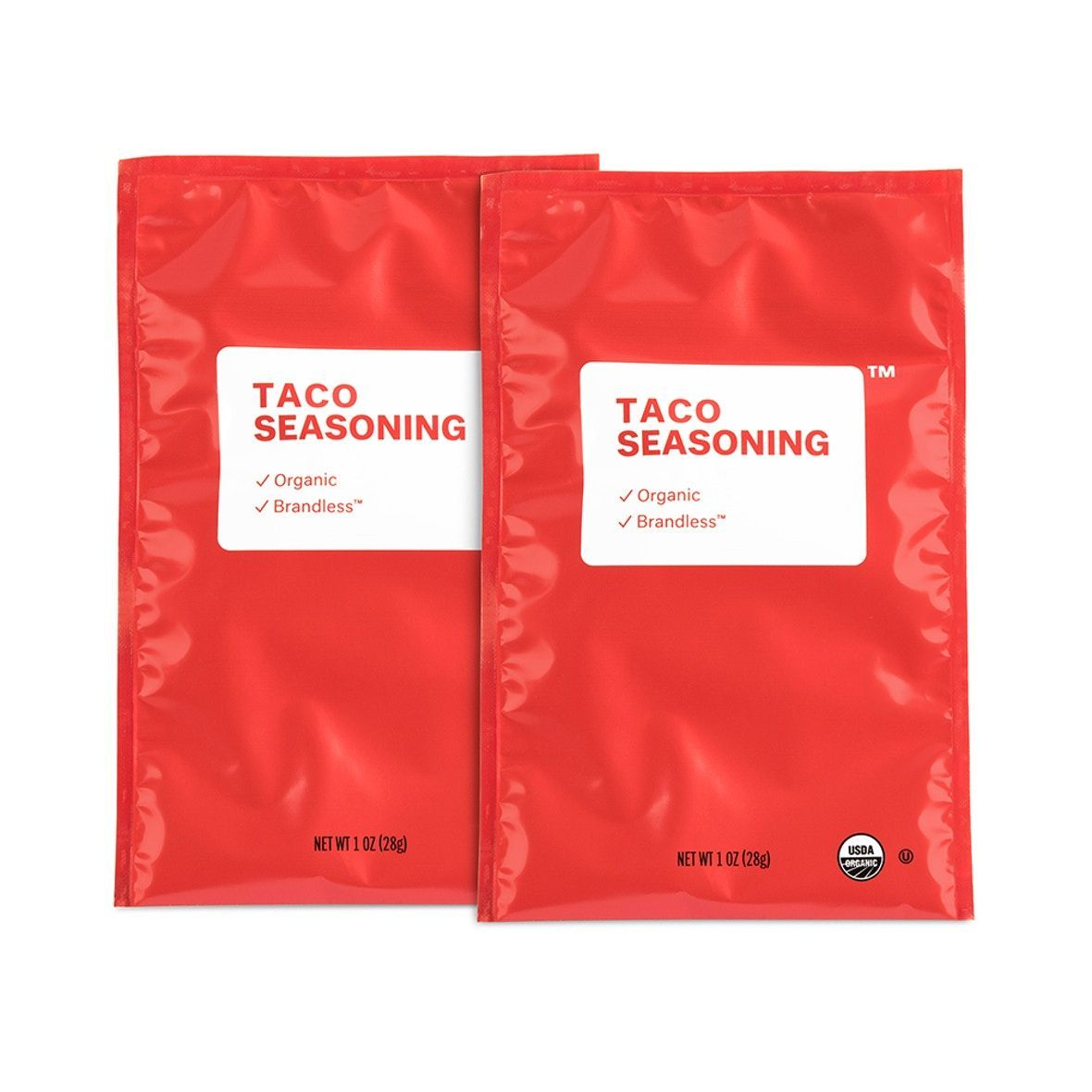 Organic Taco Seasoning Packet - 2 Pack #tacoseasoningpacket Organic Taco Seasoning Packet - 2 pk   Brandless $3 #tacoseasoningpacket
