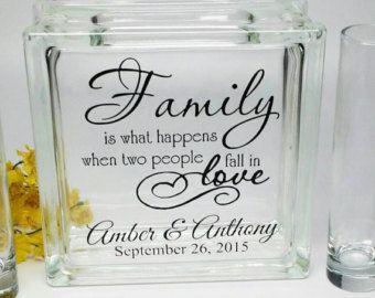 Blended Family Sand Ceremony Set Unity Candle Alternative
