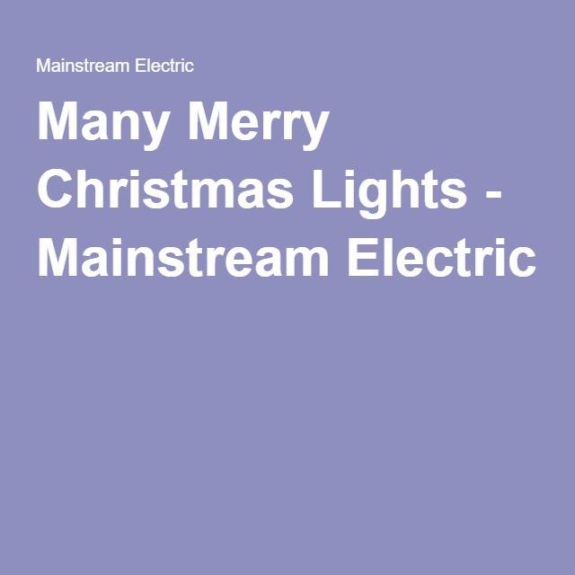 Many Merry Christmas Lights Christmas Lights Merry Christmas