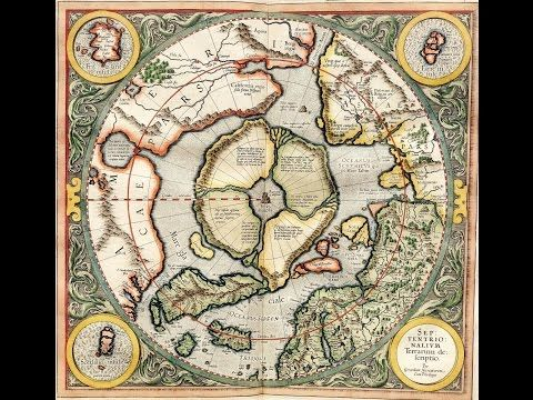 FLAT EARTH   1000 years Old MAP Shows more Land Beyond the