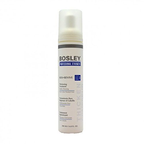 product review for bosley bos revive thickening treatment visibly thinning non color treated hair 68 oz - Bosley Review