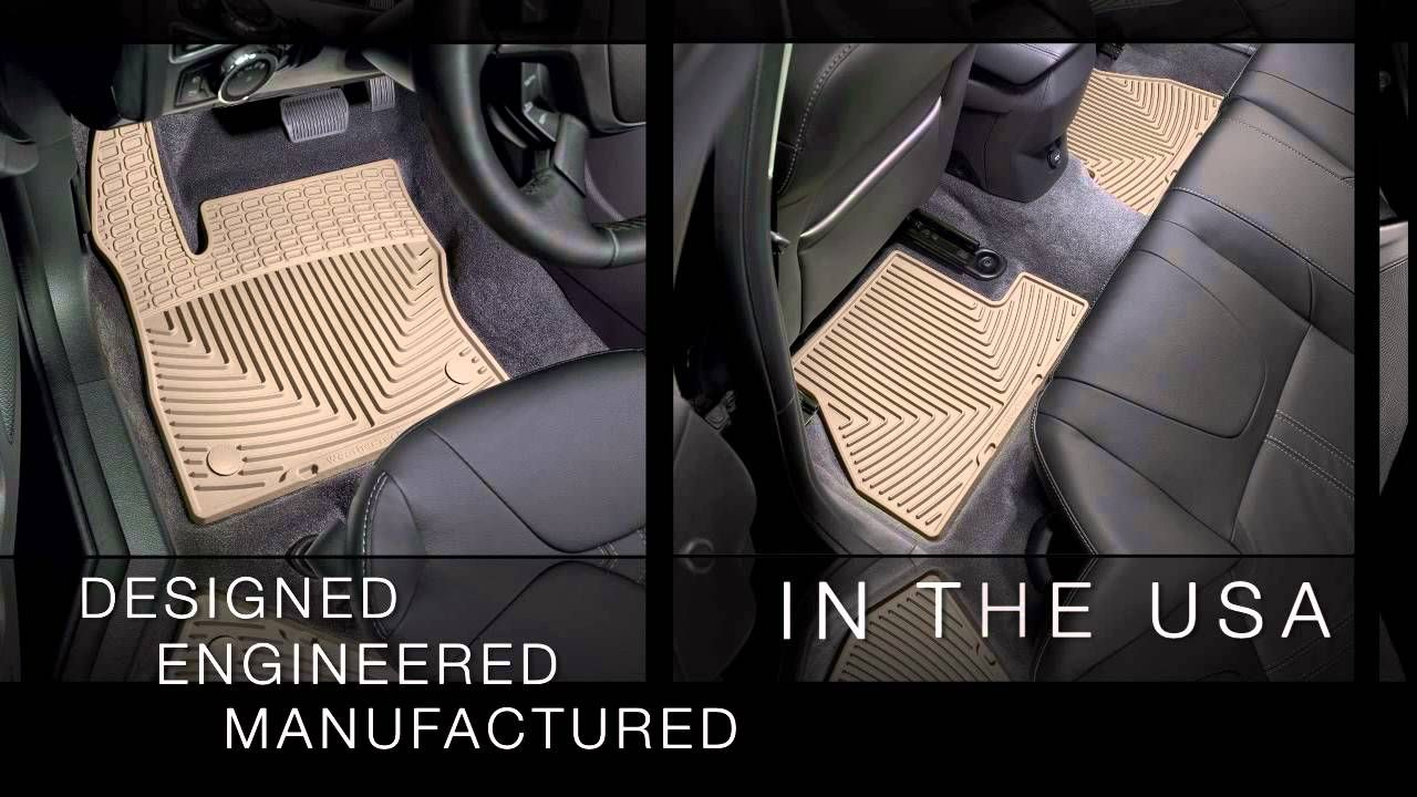 WeatherTech® AllWeather Floor Mats for 2012 Toyota Camry