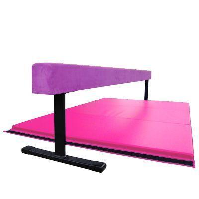 New Nimble Sports 8 feet x 4 feet Pink and Light Blue Gymnastics Mat Made in USA