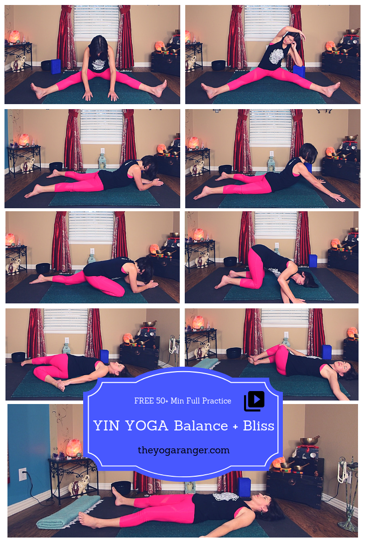 Bring Balance And Bliss Into Your Life Yin Yoga Sequence Yin Yoga Yoga Sequences