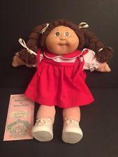 1985 Original Coleco Cabbage Patch Doll Petula Rani Cabbage Patch Dolls Cabbage Patch Babies