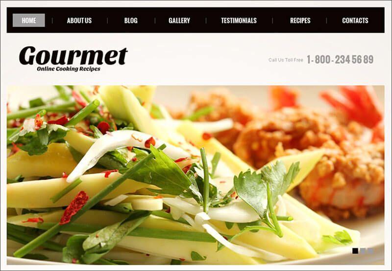 18 Template Theme Blog Resep Masakan Dan Kuliner Resep Masakan Masakan Makanan