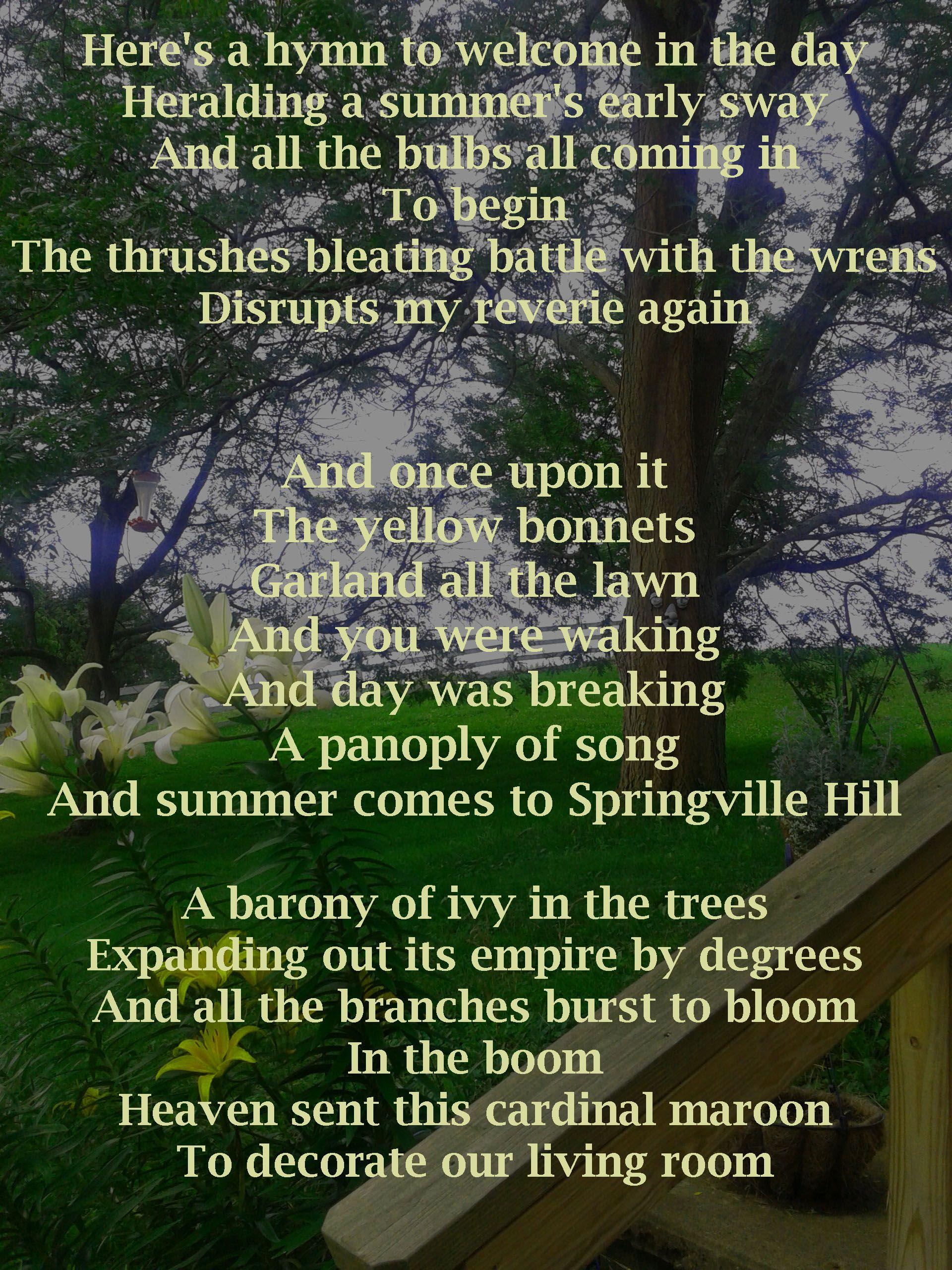 June Hymn The Decemberists