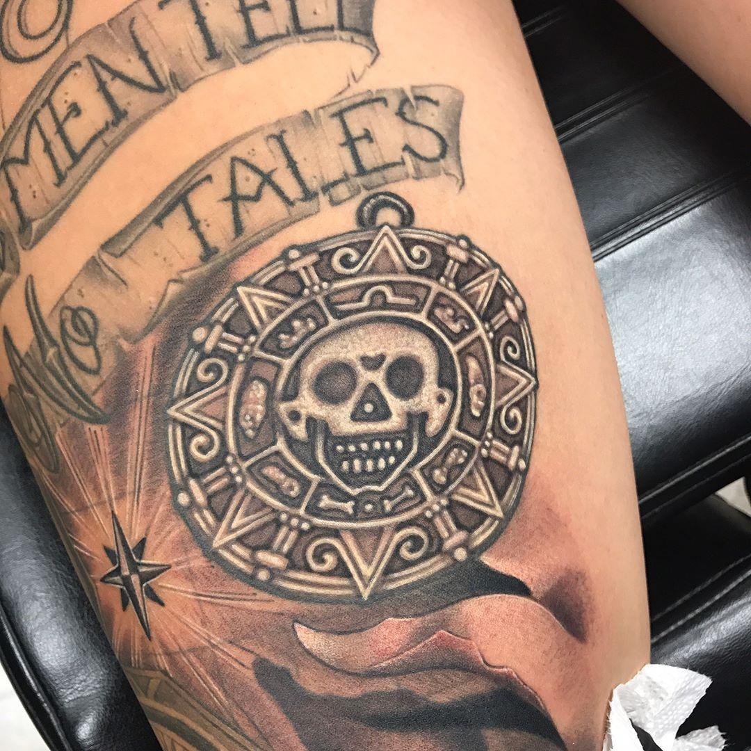 Pirates Of The Caribbean Tattoo Cool Tattoos Pirate Tattoo