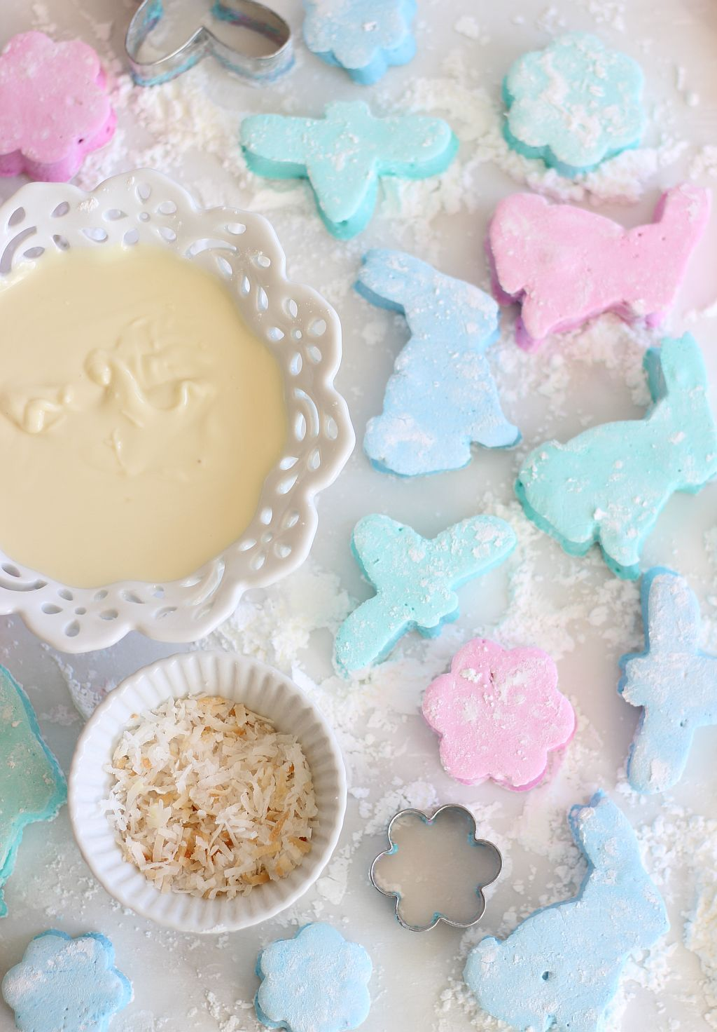 White chocolate dipped coconut marshmallows 16 food gifts recipes negle Gallery
