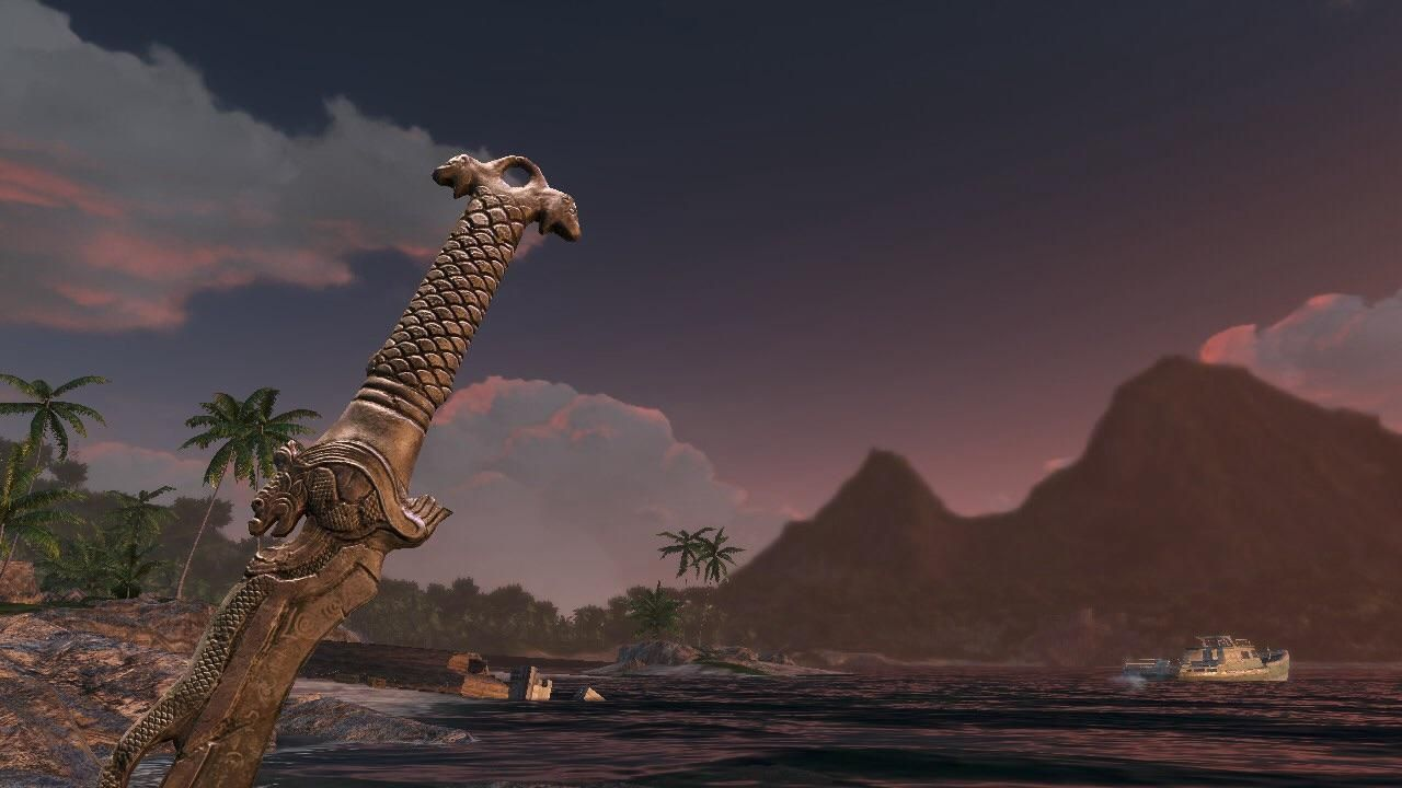 Took a screen shot at the end of Farcry 3. Honestly my favourite screenshot I've ever taken.