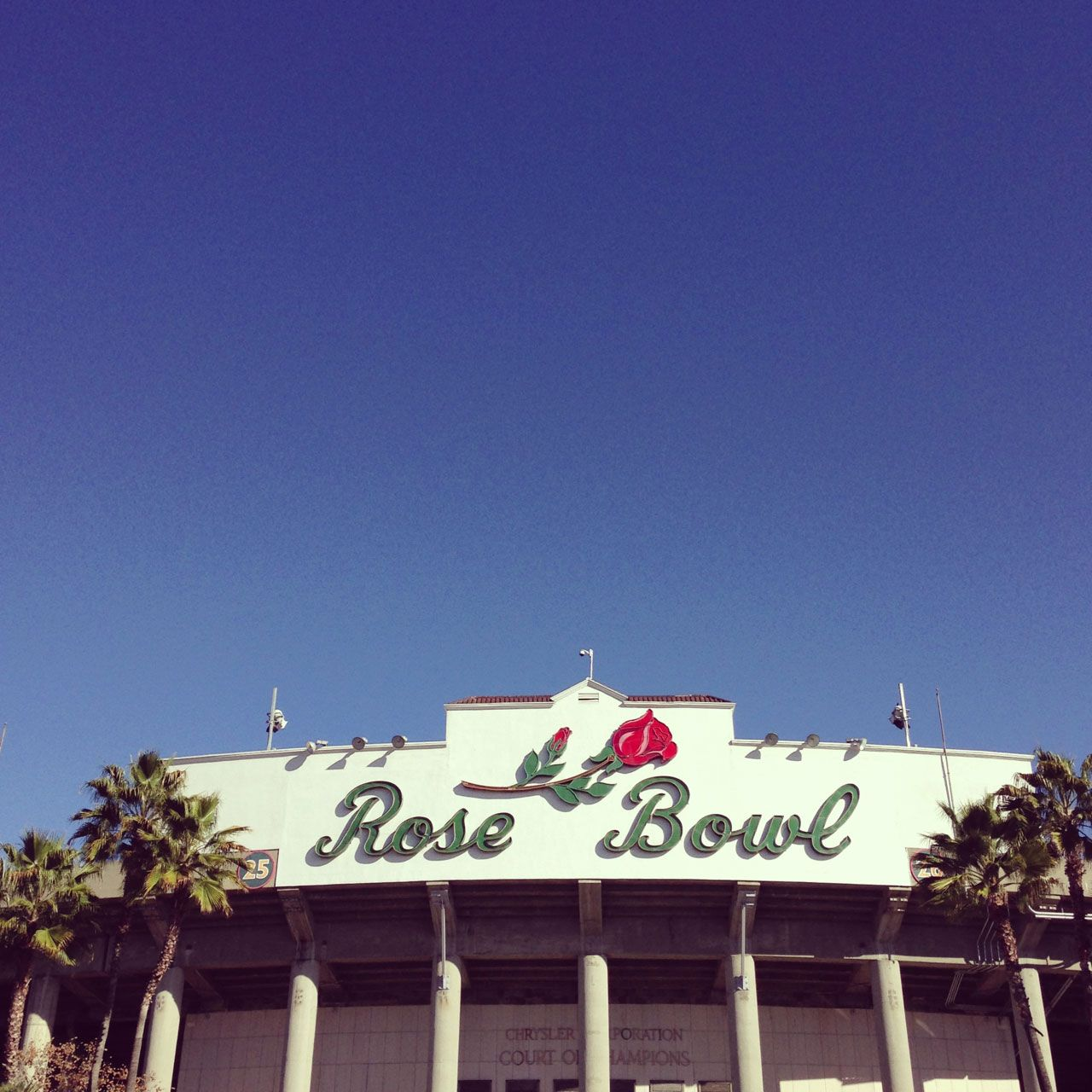 hope to see the cats play here one day rose bowl pasadena ca rose bowl pasadena rose bowl pasadena pinterest