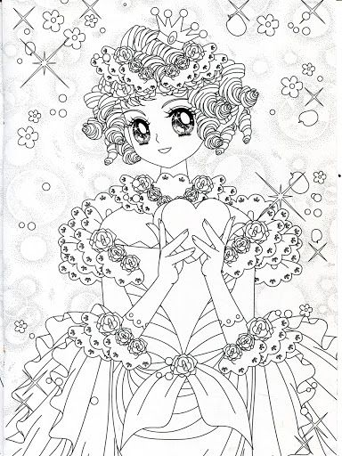 Pin on anime & shojo coloring book