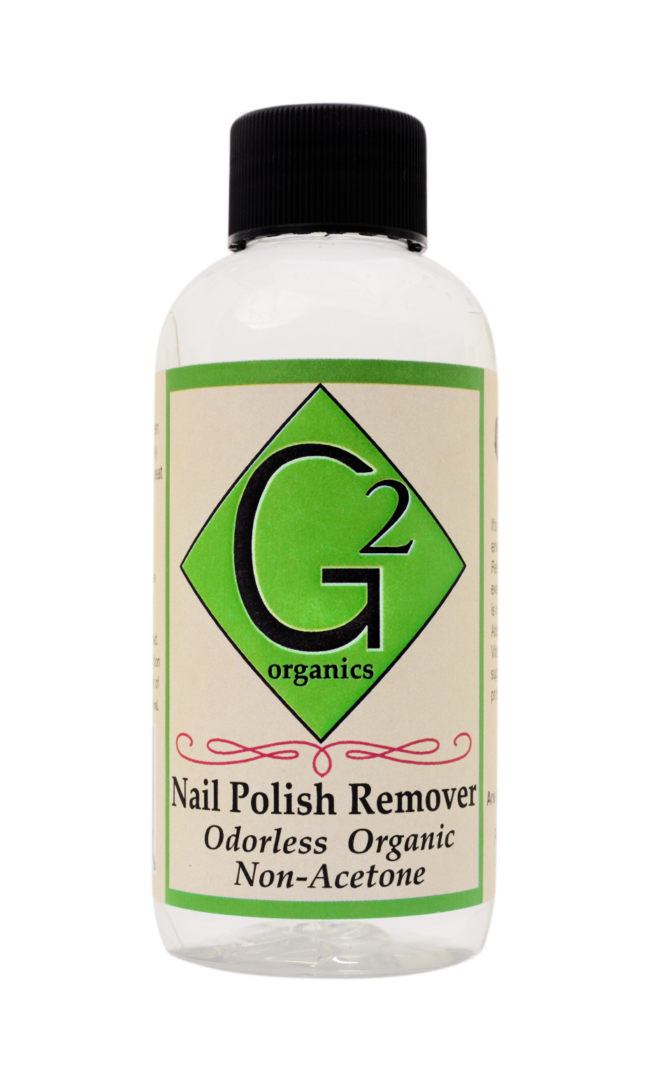 Odorless Brown Label Organic Nail Polish Remover Reiki