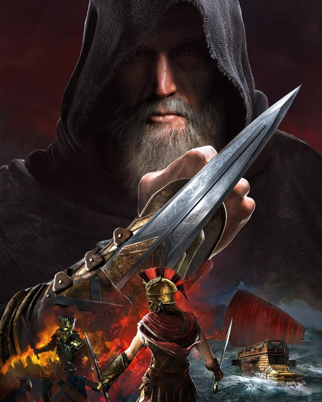 The Assassinscreed Odyssey Post Launch Content Season Pass Including Legacy Of The First Blade Assassins Creed Artwork Assassins Creed Assassins Creed Art