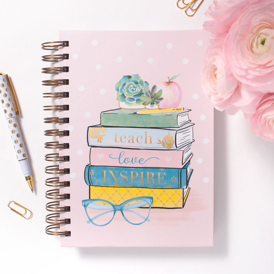 Teach Love Inspire Spiral Bound Journal With Images