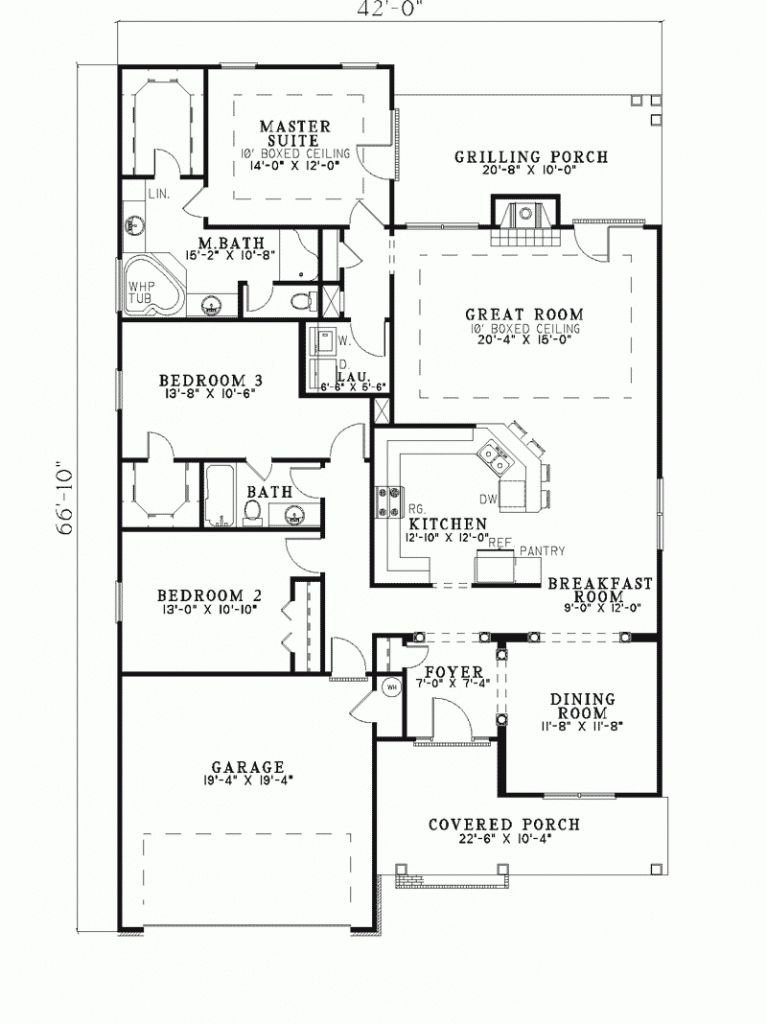 Super Design Ideas 9 Lake House Plans Narrow Lot Floor Enjoyable Inspiration 10 Narrow Lot House Plans Ranch Style House Plans House Plans
