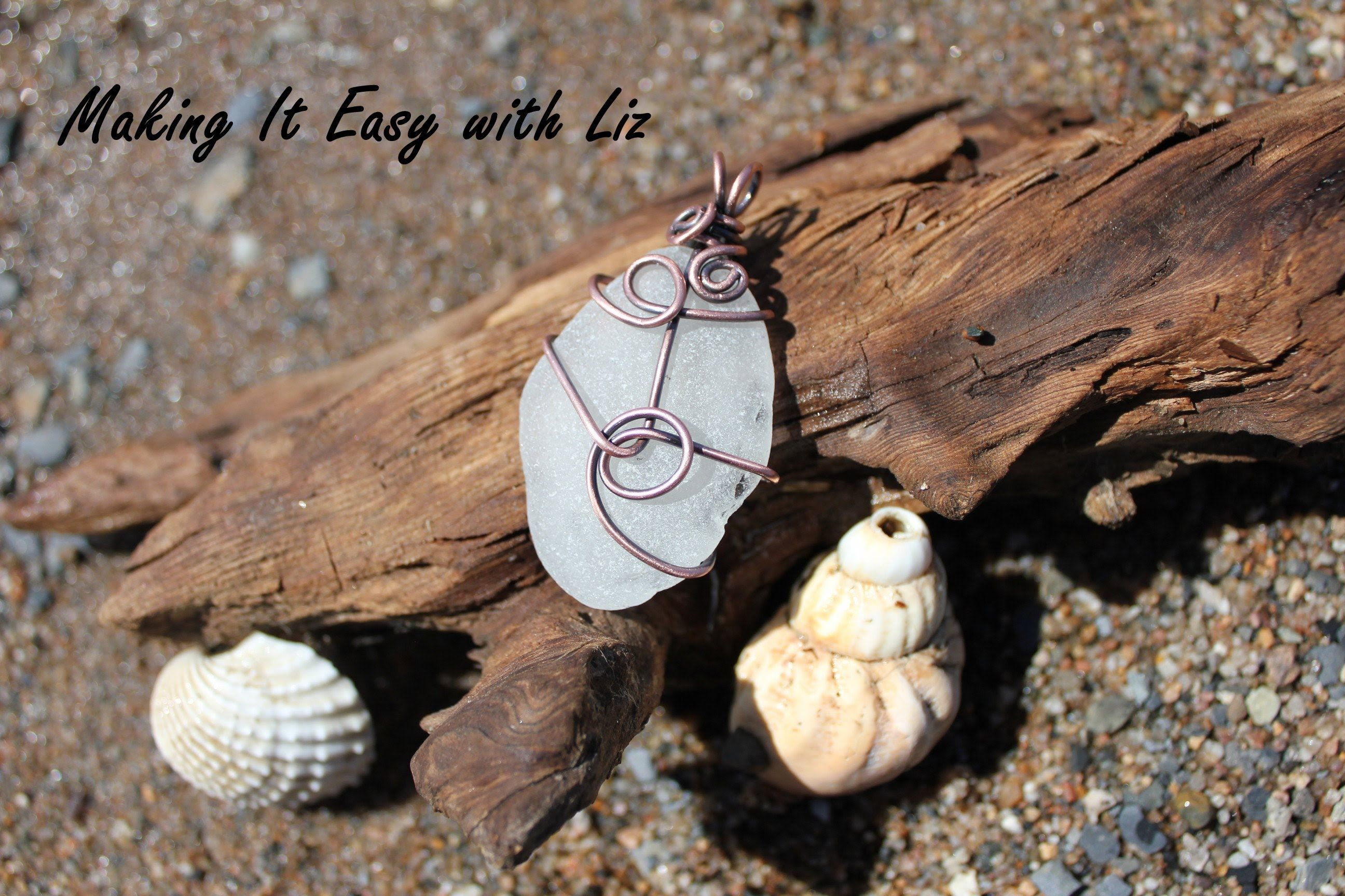 In This Video I Show You How I Easily Wrap Beach Glass To Make A Fabulous  Pendant. You Can Make It Simple Or Super Swirly.