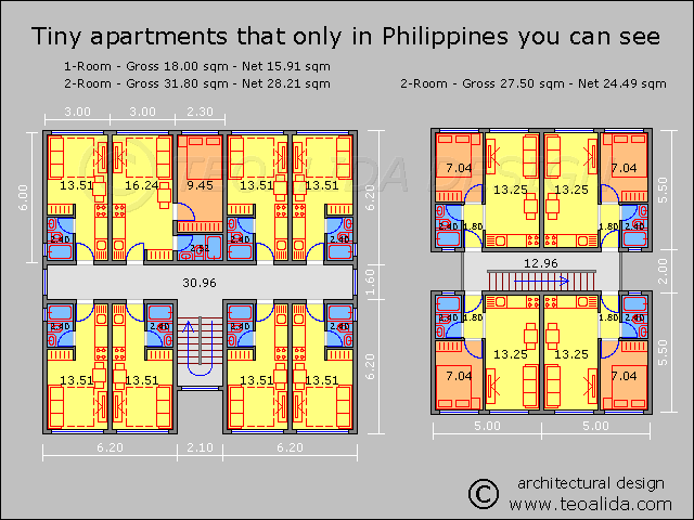 Philippines Tiny Apartments Apartment Floor Plans Apartment Plans Floor Plan Design