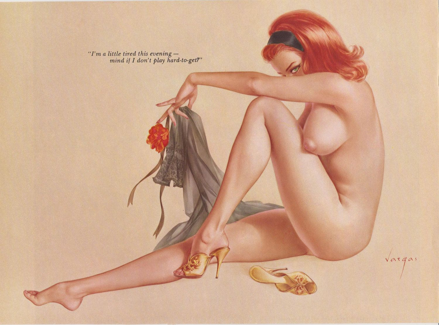 Image result for nude pin up art