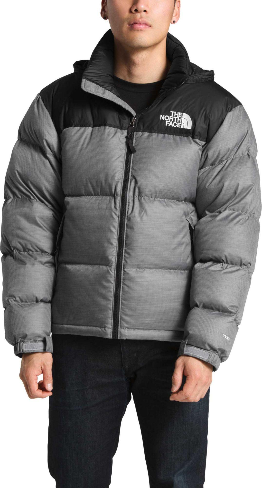 The North Face Men S 1996 Retro Nuptse Jacket Size Large Gray North Face Jacket Womens North Face Mens North Face Jacket
