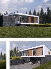 Kavel en huis architecture visual effects for Kavel en huis magazine