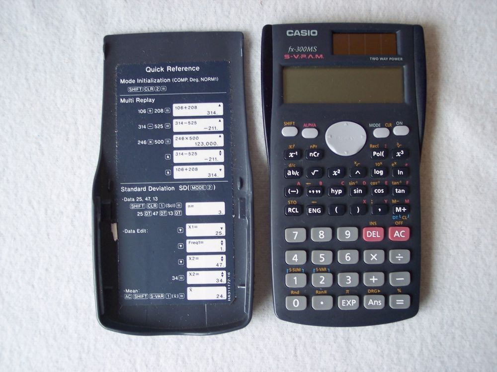 casio fx 300ms scientific calculator rh pinterest com Casio FX 300Ms Plus Casio FX- 300 ES