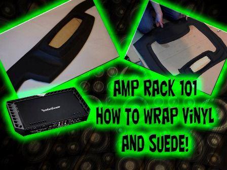 fiberglass amp rack 101 build a custom fiberglass mold for car audio · fiberglass amp rack