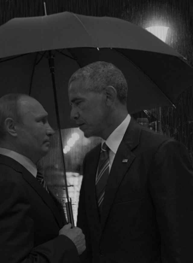 Photo Of Obama And Putin Death Stare Sparks Hilarious Photoshop - Photo of obama and putin death stare sparks hilarious photoshop responses