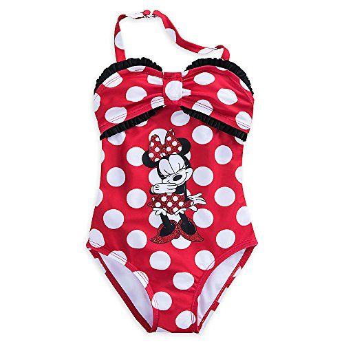 Minnie Mouse Girls Disney Minnie Mouse Swimsuit