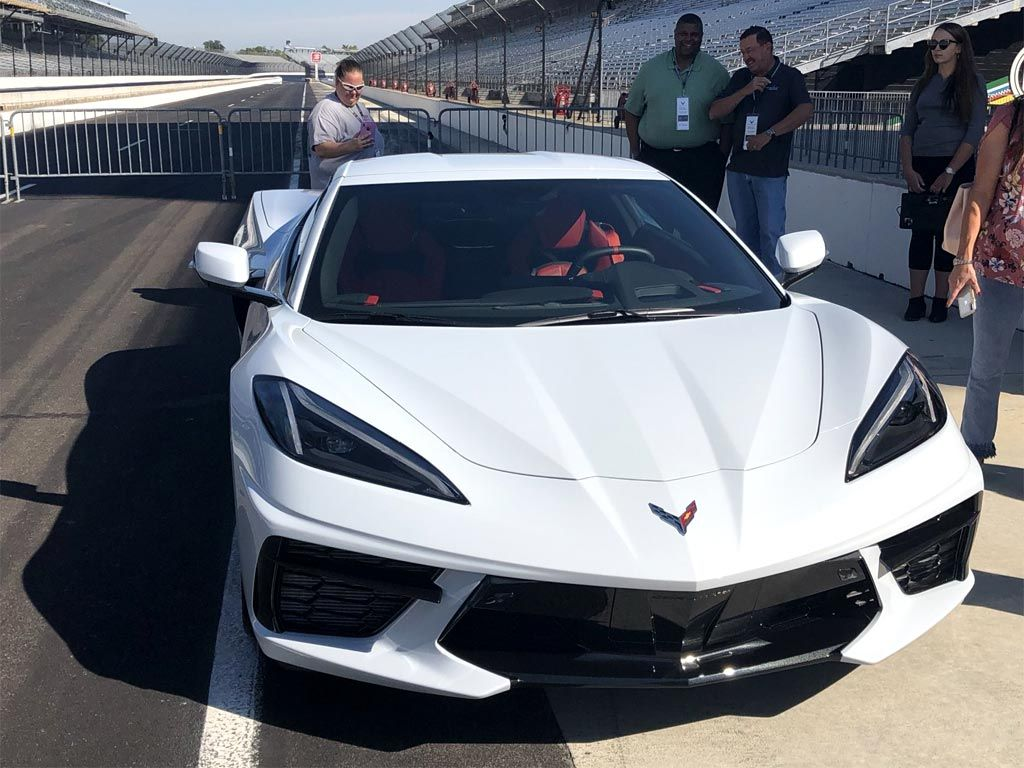 [PICS] The C8 Corvette Makes First Visit to the