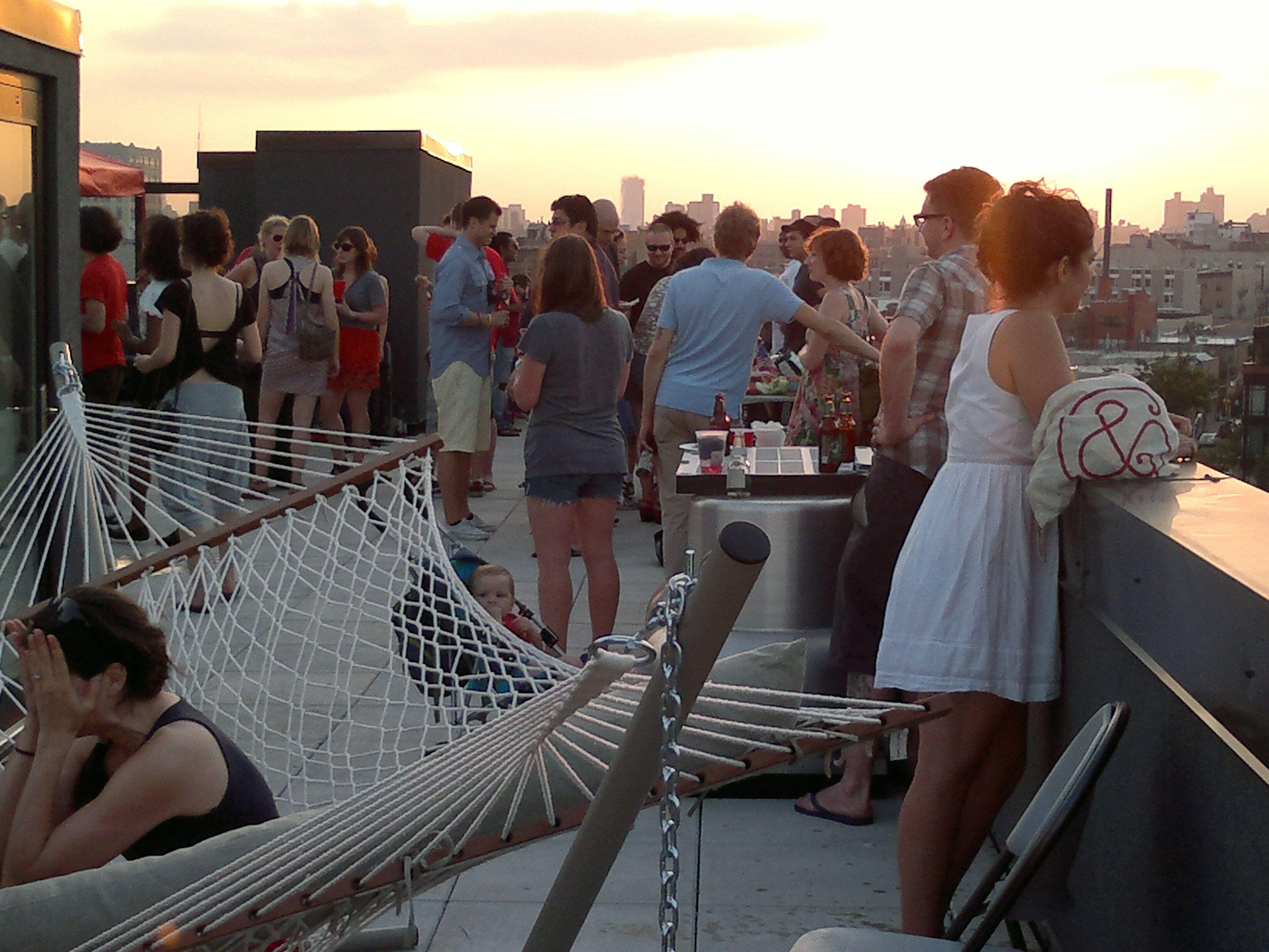Rooftop Party Brooklyn Random Nyc Rooftop Rooftop