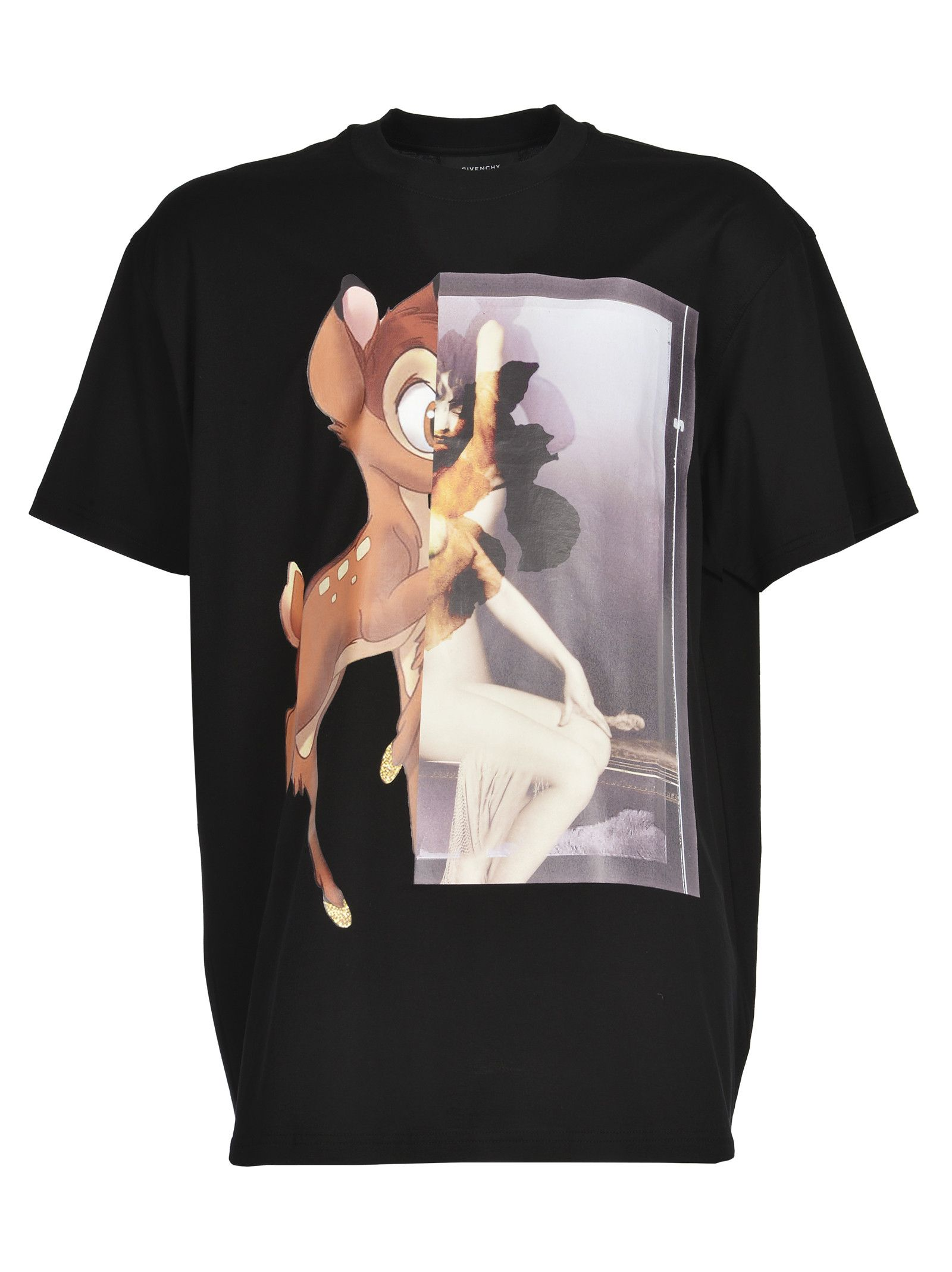 c23ea9a0 Givenchy Tshirt Stampa Vintage in Black for Men (Nero) | Lyst ...
