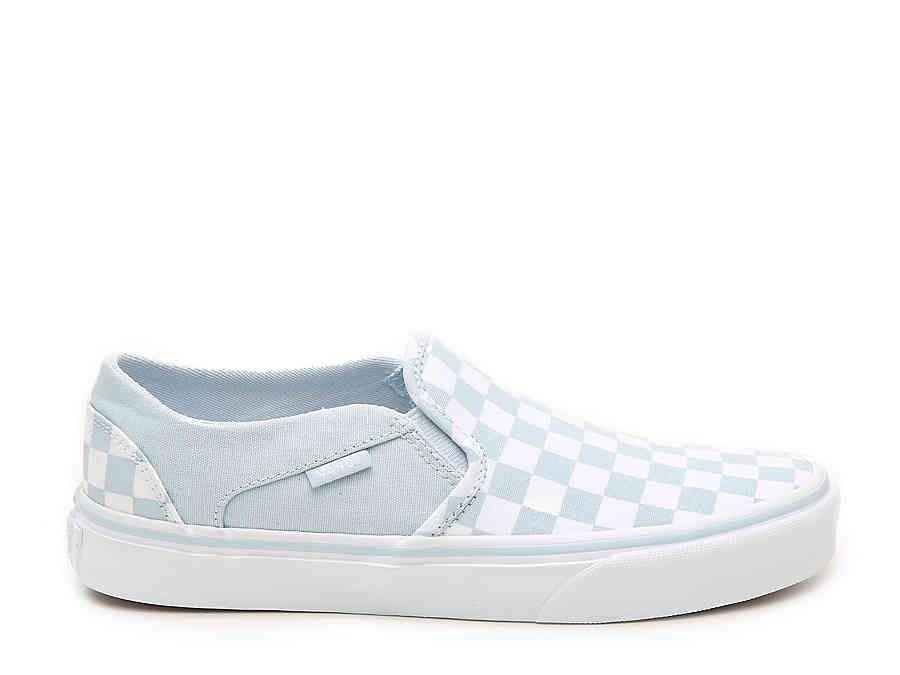 dsw vans checkerboard