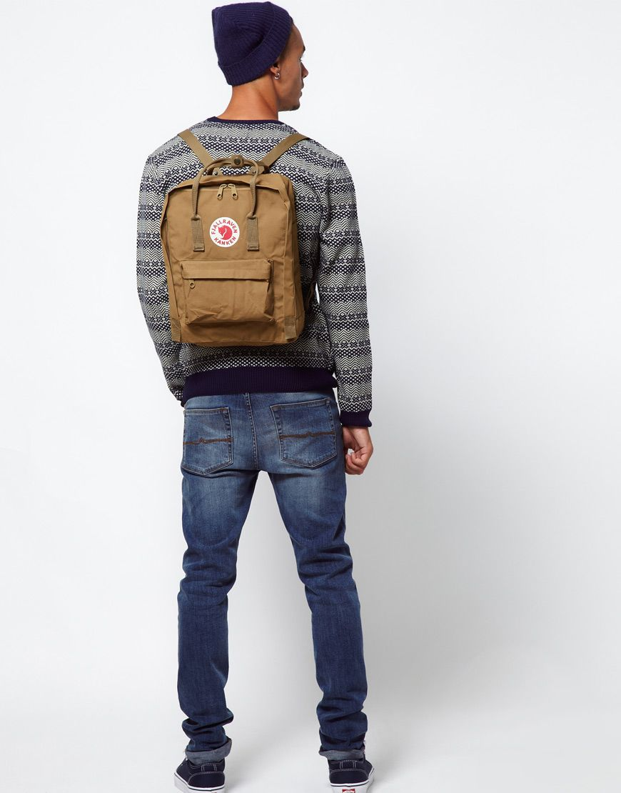 aee20642db Fjallraven Kanken Backpack in Brown for Men