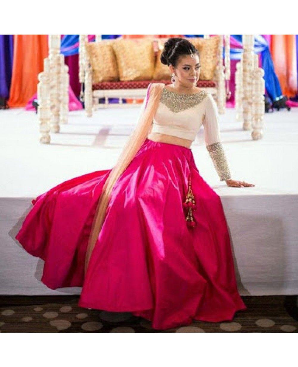 Other Women's Clothing Women's Clothing Frank Indian Bollywood Replica Lehenga Skirt Choli Indian Women Designer Lengha Choli