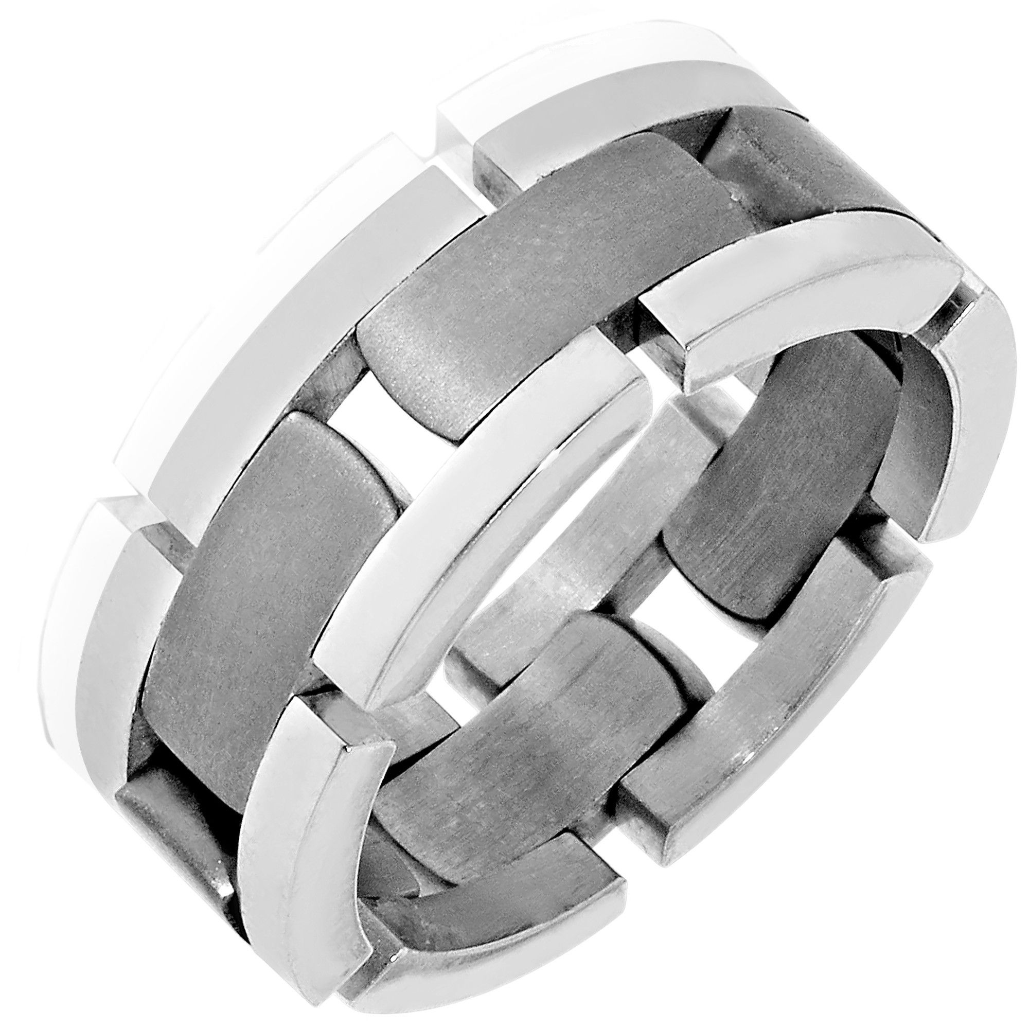 A man needs a wedding band that is as unique as he is