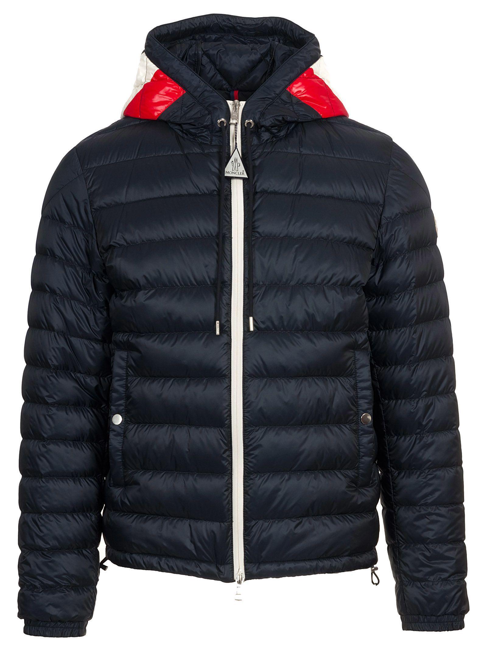 Moncler Ceze Jacket In Blu Notte Modesens Jackets Moncler Woolrich [ 2136 x 1600 Pixel ]