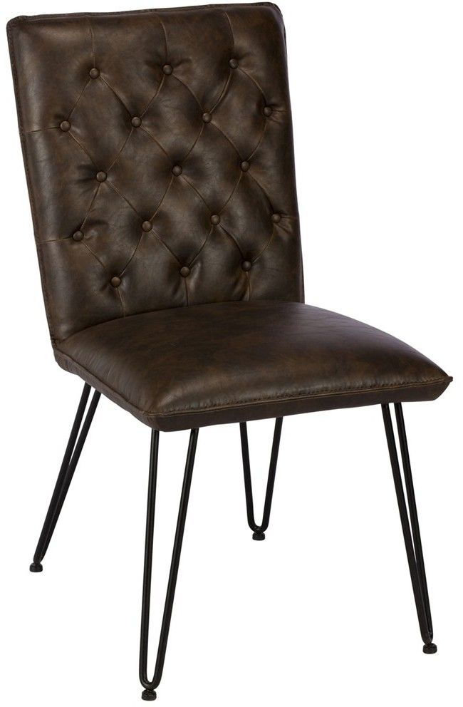 Baker Furniture Chairs Lewis Dining Chair Dark Brown ...