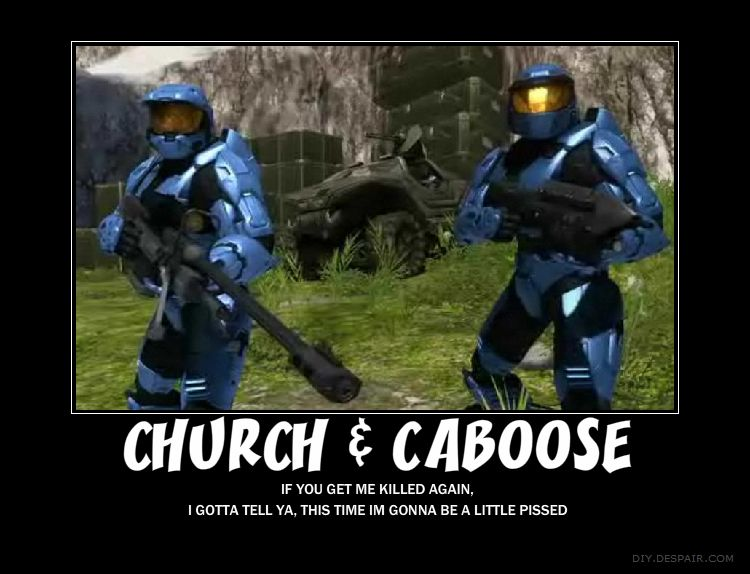 Chuch and Caboose | Red vs Blue/RWBY | Red vs blue, Blue