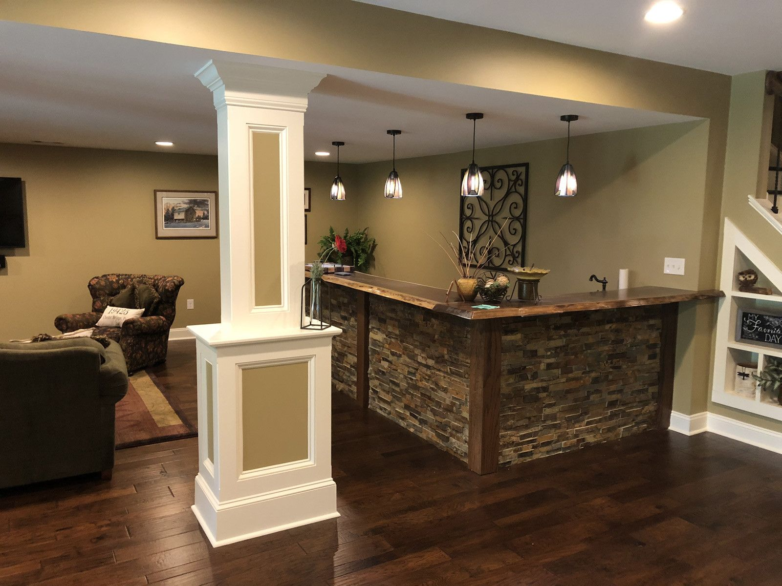 50 Insanely Cool Basement Bar Ideas For Your Home In 2020 Rustic