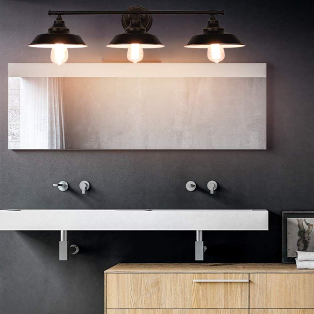 50 farmhouse bathroom vanity lights rustic vanity