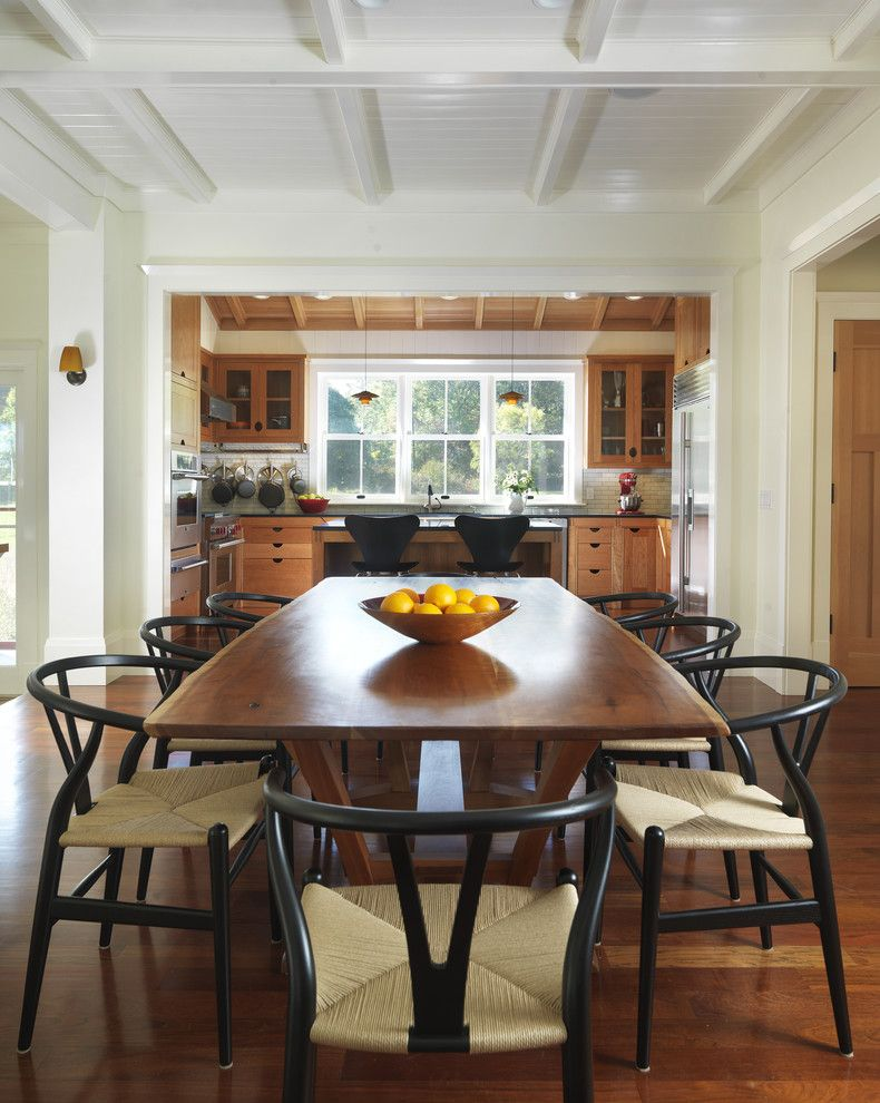 craftsman dining table Dining Room Farmhouse with