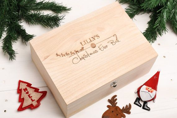 Christmas Eve box Gift, Memory Box, Keepsake Box, Night before