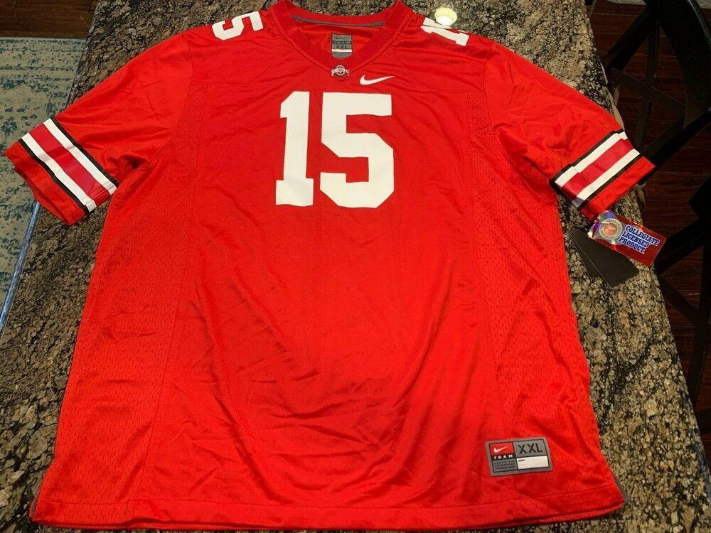 Nike Ezekiel Elliott Ohio State Jersey Size XXL 2XL New